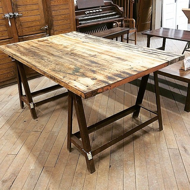 These reclaimed Maple Glu-Lams from Babcock and Wilcox factory in Cambridge, ON are incredible. They make fantastic table/desk/counter tops and have so much character!! I love them!! #reclaimed #interiordesign #rusticdesign #woodworking