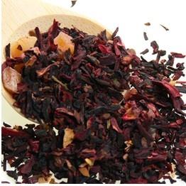 Hibiscus er en slekt urter med store blomster. Brukes til te, omslag, ekstrakter og som urtemedisin. Inneholder mye C vitaminer! http://krydderia.no/te/hibiskusblute-tea.html