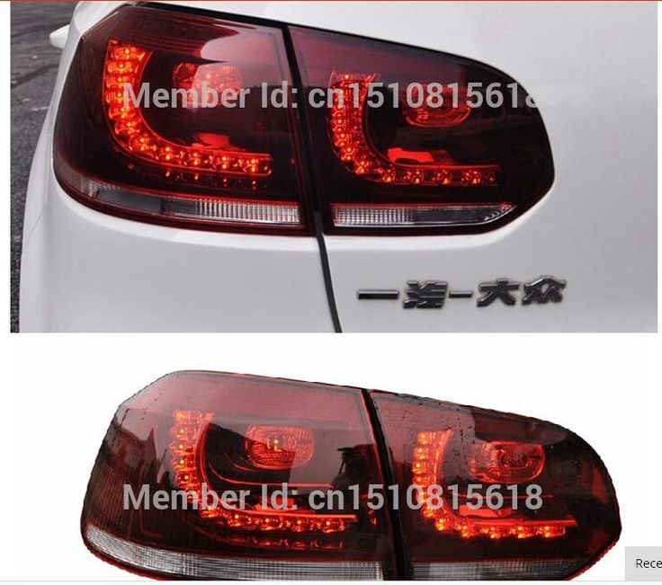 (425.68$)  Watch now - http://aiqb0.worlditems.win/all/product.php?id=32744410498 - 2009-2012 Golf6 led tail light R20 rear trunk lamp cover drl+signal+brake+reverse Car Styling VW Golf 6 tail lights