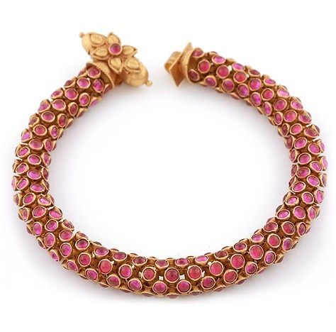 Beautiful antique ruby bracelet
