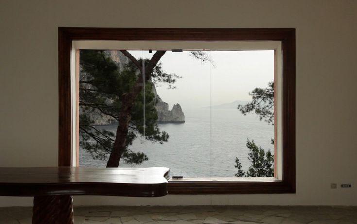 Adalberto Libera / casa Malaparte