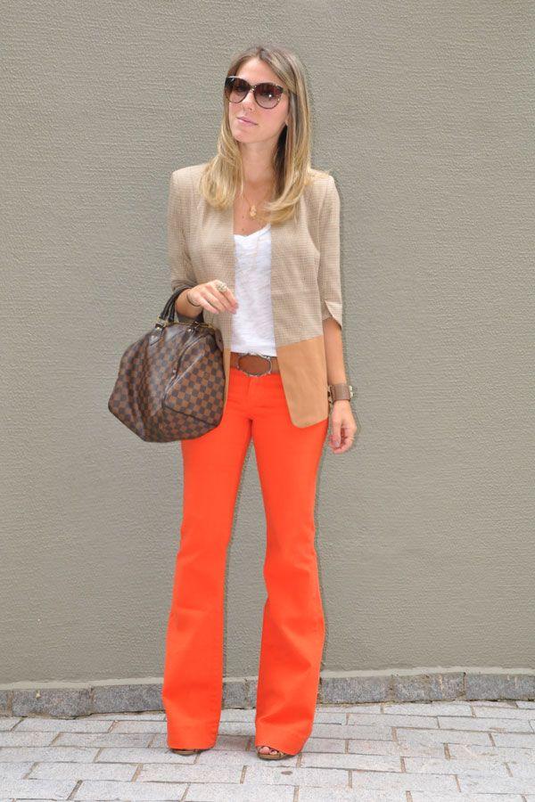 Espelho da Luluzinha: Presença garantida no meu guarda roupa:a calça flare