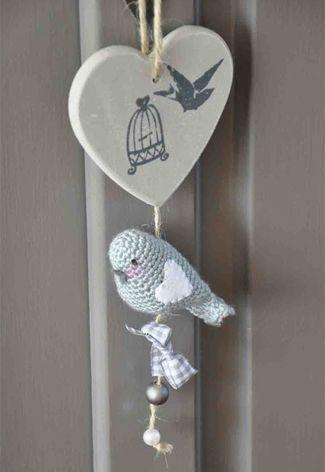 DIY vogeltje haken | Crochet bird #diy #kids