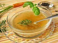 Bone Broth- heals the gut, reduces cellulite, fortifies immune system, enhances digestion.     Traditional foods we've lost out on:  ■Sprouted and fermented grains  ■Fermented vegetables, cultured dairy  ■Organ meats  ■Bone broth