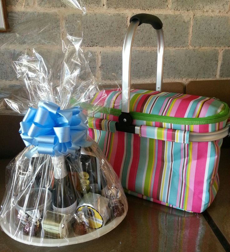 A Delight hamper, ready to go out to a lovely mumma!