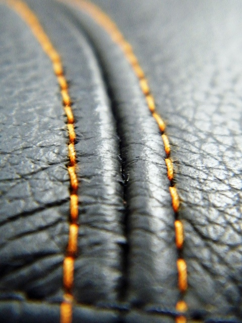 Leather Stitching, via Flickr.
