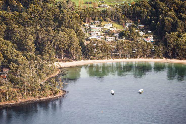 Tranquil Stewart's Bay just near Port Arthur on the Tasman Peninsula