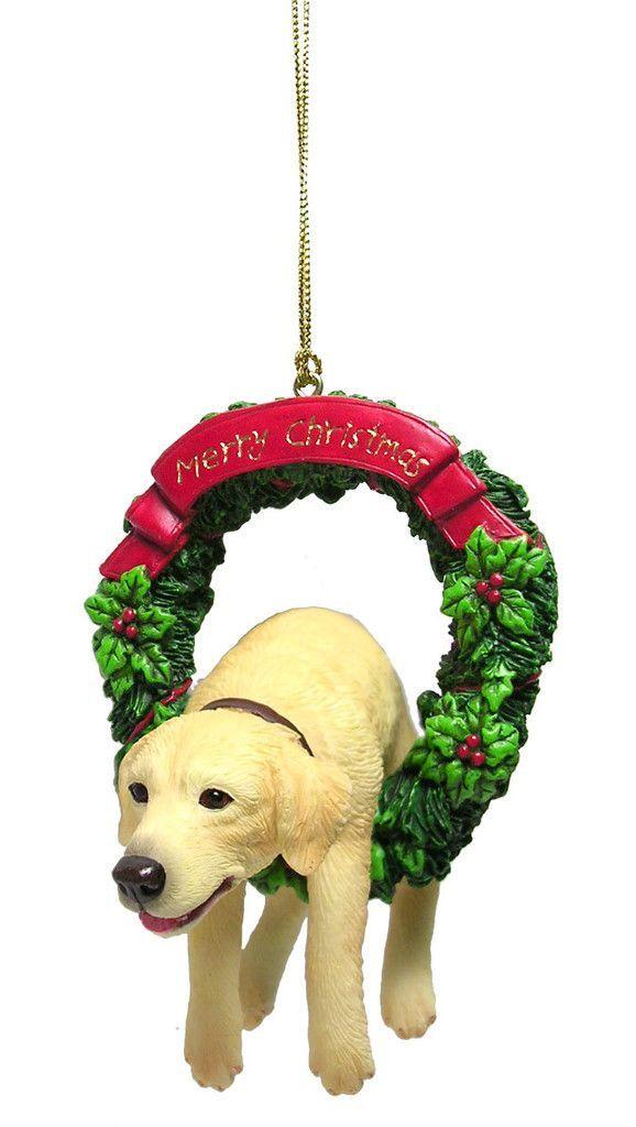 Golden Retriever Puppy Christmas Ornament Retriever Puppy
