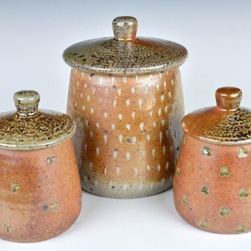 Sabine Nemet, wood-fired stoneware