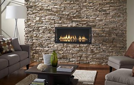fake stone wall would be great for our walk in shower outside wall!