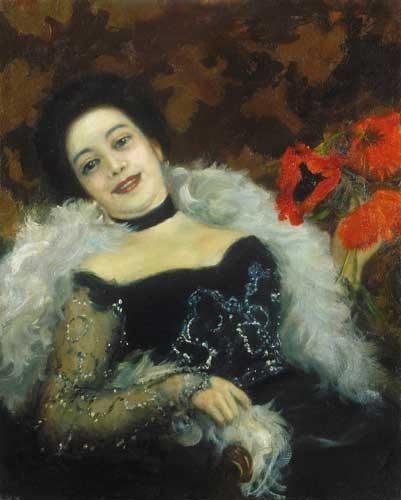 Csók, István (1865-1961) Parisian woman, 1902