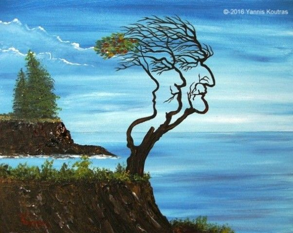 Tree of live - Acrylic on Canvas  Love As Art (Gifts Ideas)