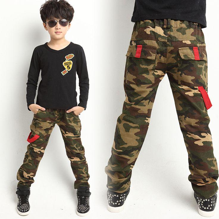 >> Click to Buy << New 2017 Autumn Teens Jeans For Boy Camouflage Baby Boys Jeans Pants Designer Kids Jean Children's Elastic Waist Denim Long Pant #Affiliate