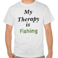 #Men #Fishing #Therapy #T-Shirt