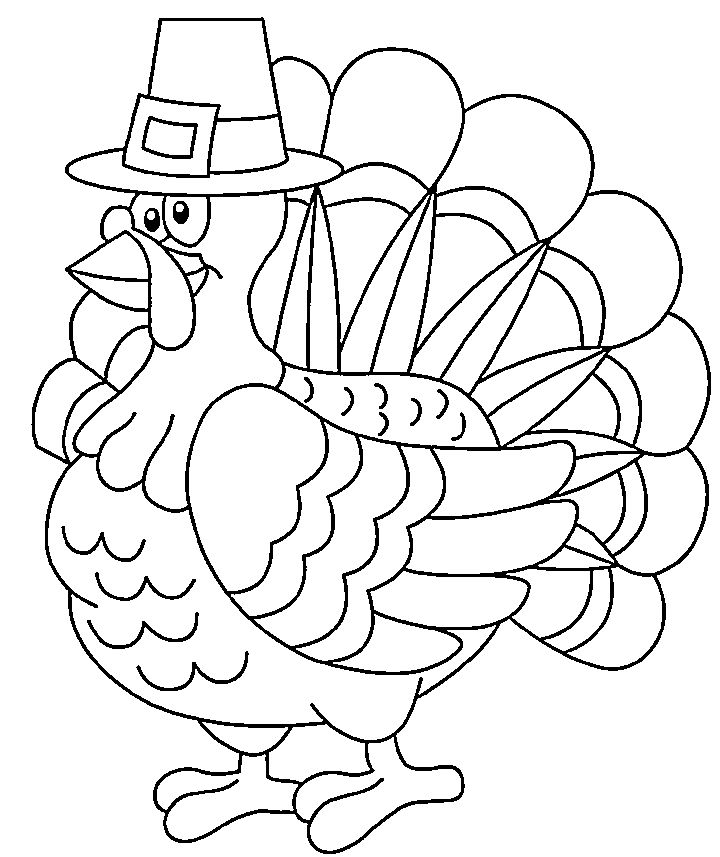 25 Best Turkey Coloring Pages Ideas On Pinterest