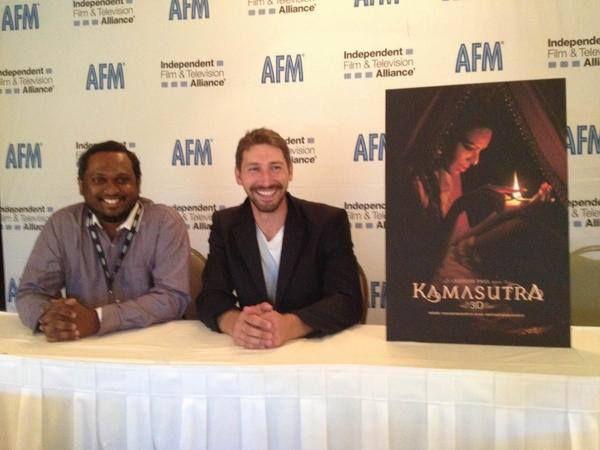 Director of #kamasutra3d Rupesh Paul.