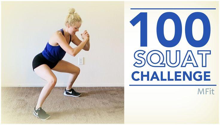100 Squat Challenge | MFit