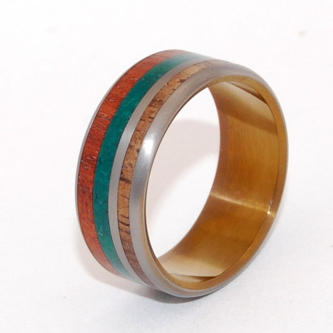Strawberry fields    Minter  Richter | Unique Wedding Rings | Wooden Wedding Rings | Titanium Rings | Minter + Richter