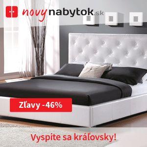 Vyspite sa kráľovsky! :) NovýNábytok.sk