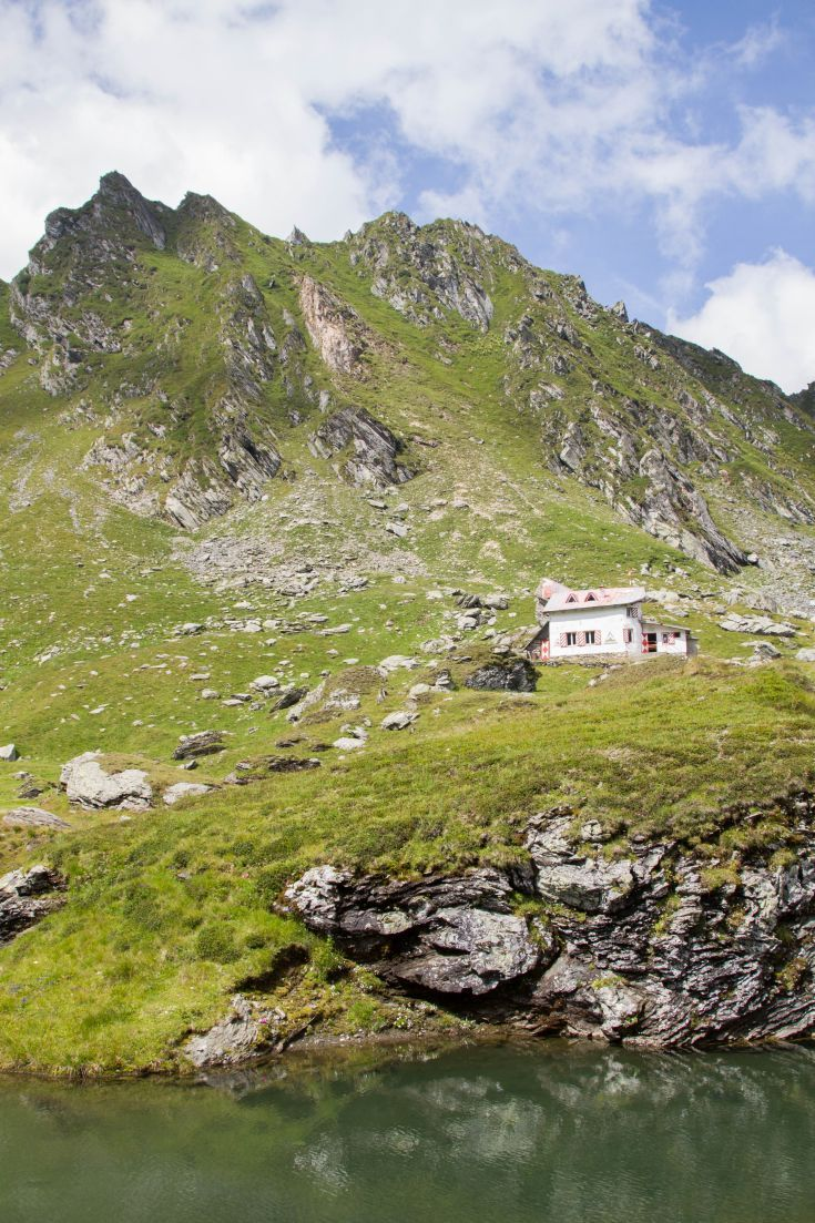 The view from the top of the pass on the Transfagarasan Highway that cuts through Transylvania.  A Romanian road you will want to drive.  Click through to find out more. ~ReflectionsEnroute