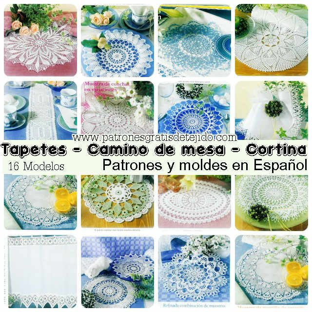 17 best images about crochet y dos agujas on pinterest - Confeccion de cortinas paso a paso ...