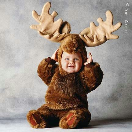 this is a must for elinns halloween costume moose - Baby Halloween Pictures
