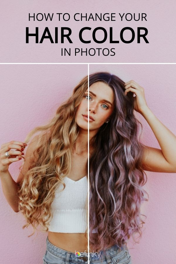 Hair Color Changer For Photos Hair Color Changer Hair Color Virtual Hair Color