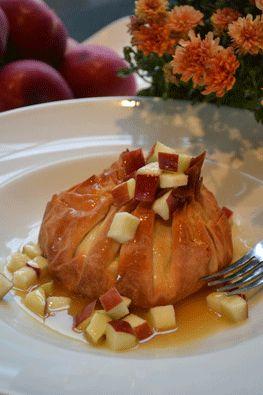 Baluchon aux pommes caramel salé