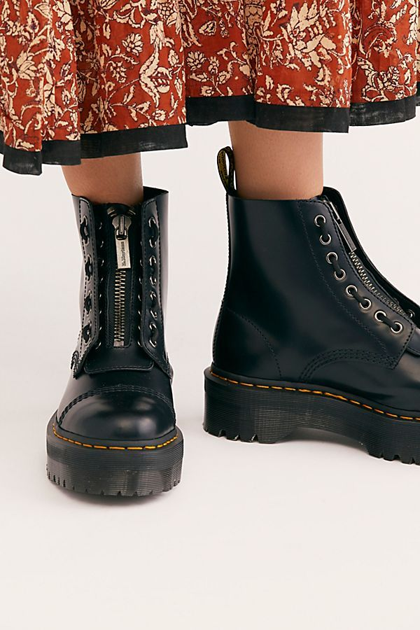 Dr. Martens Sinclair Zip Front Boots in