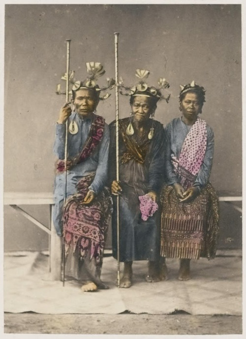 Indonesia - Sumatra - Nias (1867) - Nias people are an ethnic group native to Nias, an island off the west coast of North Sumatra. In the Nias language, the Nias people are known as Ono Niha; which literally means 'descendants of human'. https://en.wikipedia.org/wiki/Nias_people