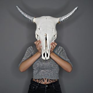 buhuuu   #selfmade #picoftheday #photooftheday #skull #skulls #tattoo #tattoos #tattooedgirls #tattooed #silver #glitter #sparkle #art #head #cowgirl #extreme #instagram #popularpic #augsburg