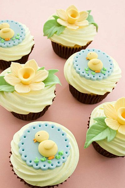 little duck cupcakes
