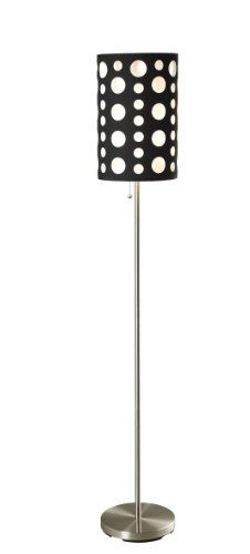 Special Offers - ORE International 9300F-BK-WH Modern Retro Floor Lamp Black/White 66 Inches - In stock & Free Shipping. You can save more money! Check It (May 09 2016 at 09:49PM) >> http://tablelampusa.net/ore-international-9300f-bk-wh-modern-retro-floor-lamp-blackwhite-66-inches/