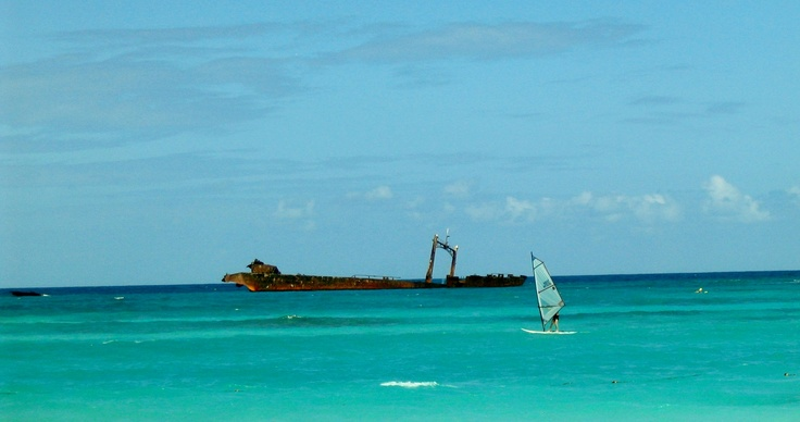 Shipwreck, Punta Cana, Dominican Republic
