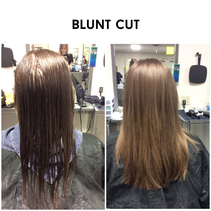 Blunt Cut, two inches off #growingoutlayers #wella #sebastian
