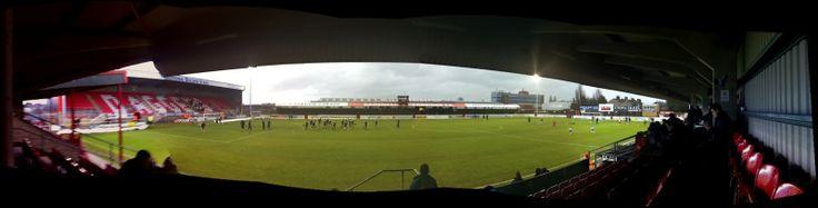 DAGENHAM- VICTORIA ROAD  home DAGENHAM & REDBRIDGE FC east-london