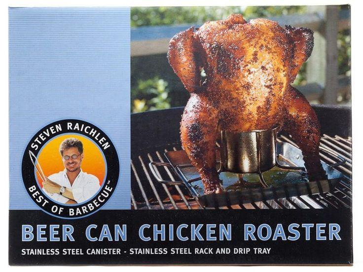 grillhouse.se - Steven Raichlen Beer Can Chicken Roaster