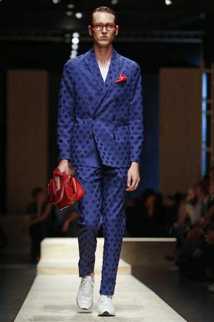 Canali Menswear Spring Summer 2015 Milan
