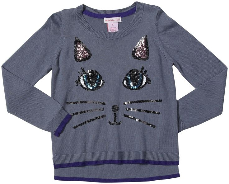 Design History Cat Top (Toddler/Kid)-Tin Soldier - Free Shipping
