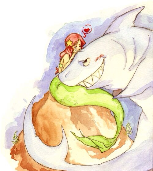 280 best images about watercolor art on pinterest an eye for Disegni zig e sharko