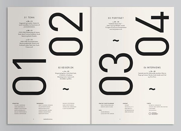 147 best toc images on pinterest editorial design for Table graphic design