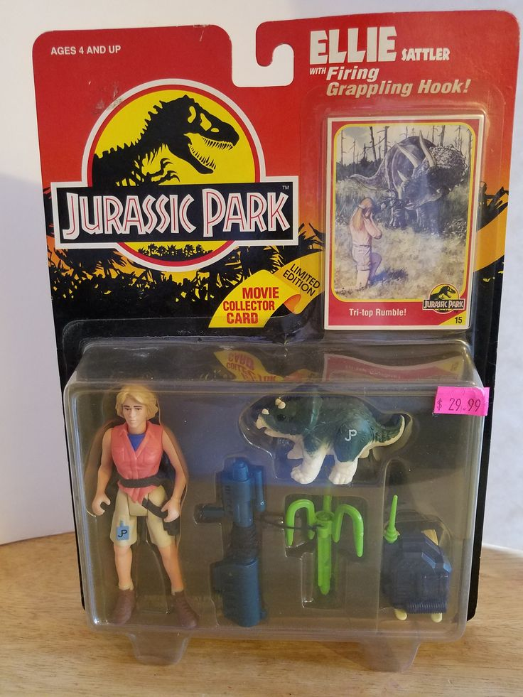 New in package, minor shelf wear Jurassic park, Jurassic