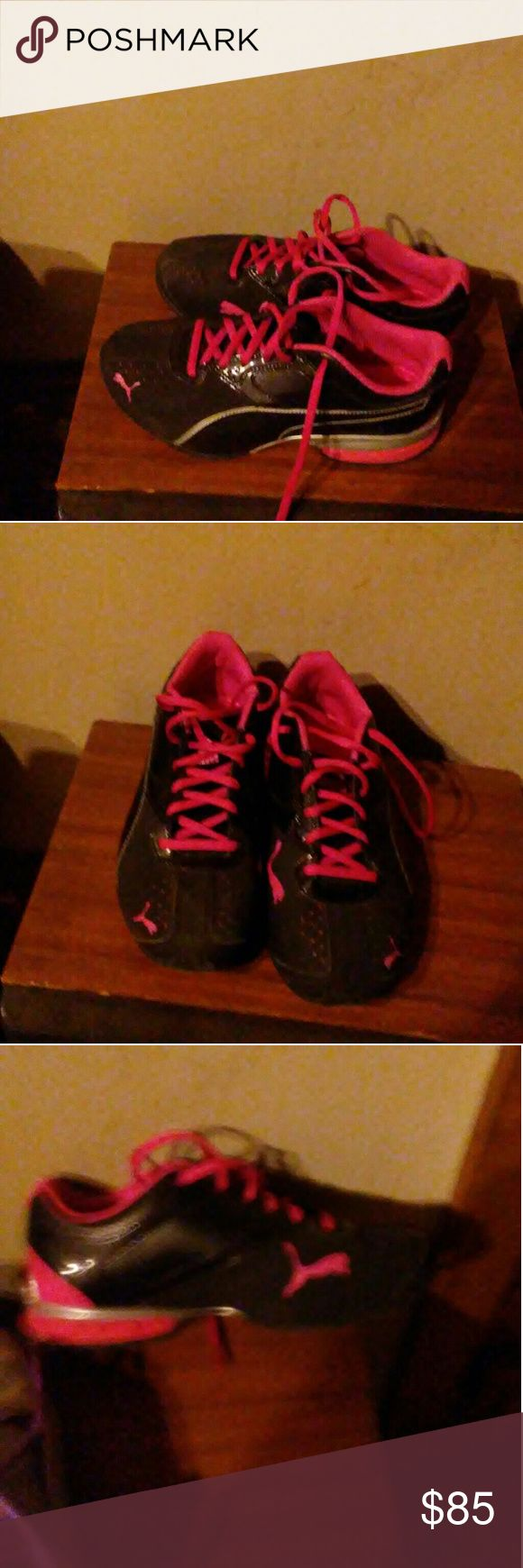 Ladies Puma's Bought them Tuesday decided i dont like them Shoes Athletic Shoes