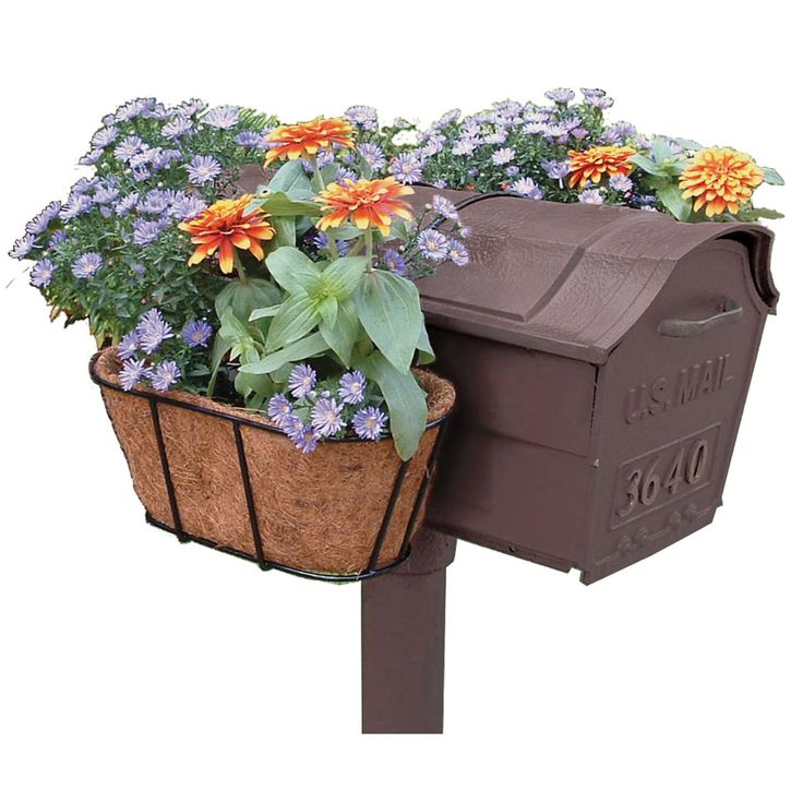 9 Front Garden Ideas Anybody Can Try: 1000+ Ideas About Mailbox Planter On Pinterest