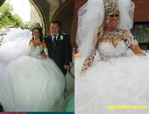 gypsy wedding dress But can you belly dance in it?