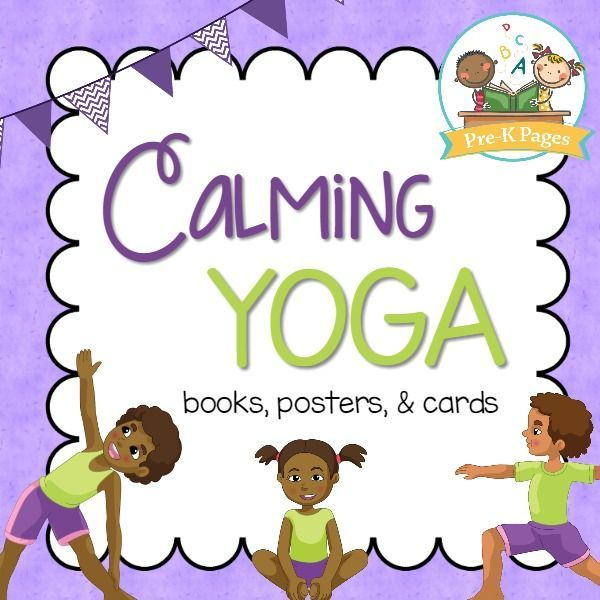 Yoga in the Classroom Printable Books Posters and Cards. Use these printable books, booklets, posters, and cards to incorporate yoga into your preschool, pre-k, or kindergarten classroom to promote self-regulation and mindfulness.