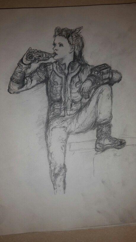 Fallout 4 sketch #WW #Sketch