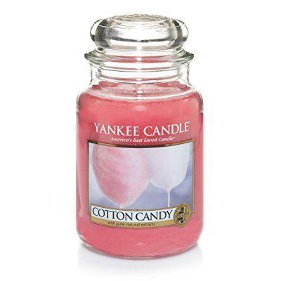 encore et toujours une yankee candle ! celle ci c'est la cotton candy !
