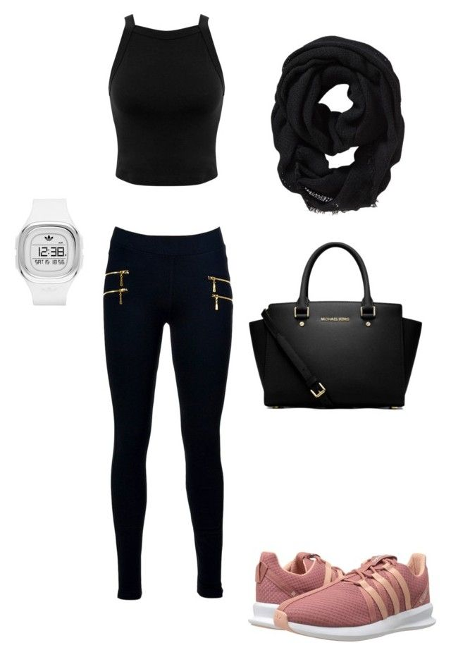 """Uwi"" by rodriguezlacaro on Polyvore featuring adidas Originals, Miss Selfridge, MICHAEL Michael Kors and Old Navy"