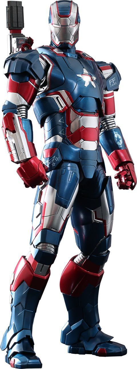 Marvel Iron Patriot Sixth Scale Figure by Hot Toys | Sideshow Collectibles: